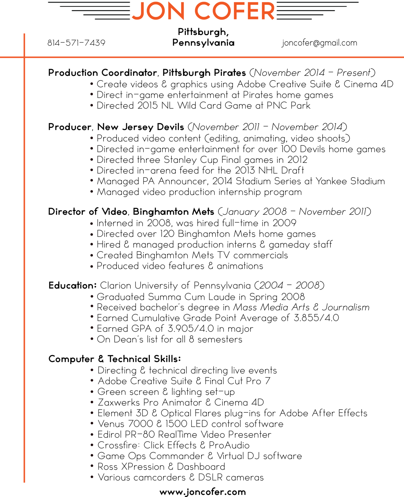 Resume Producer Resume Wpazo Resume For Everyone - Tv internship resume examples